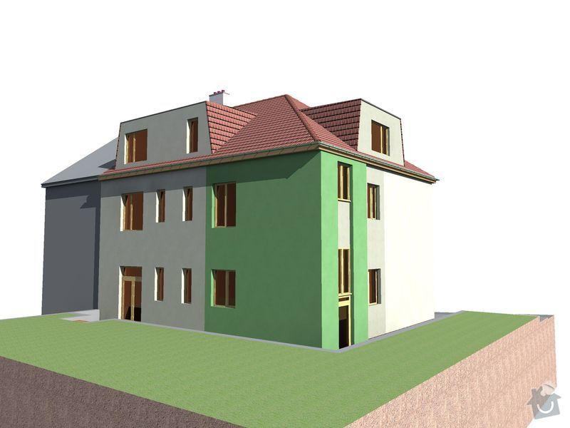 Pokrývačské, klempířské a tesařské práce na střeše: Novy_stav_02