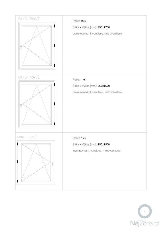 Výrobu a montáž oken a dveří BRNO: 2