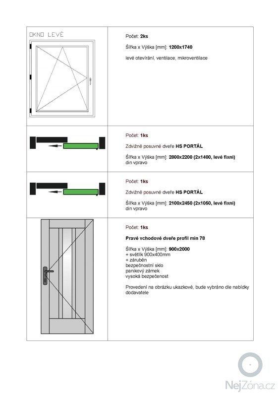 Výrobu a montáž oken a dveří BRNO: 3
