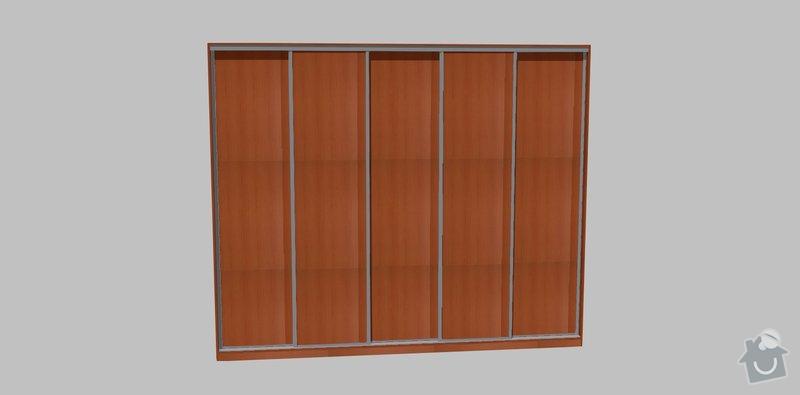 Vestavěná skříň na míru: dvere_1