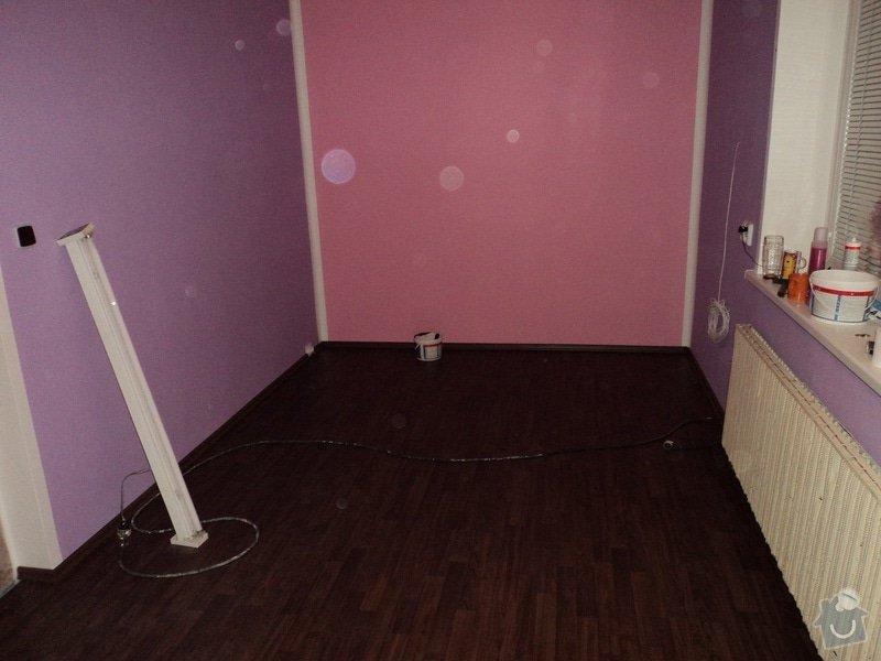 Rekonstrukce dětského pokoje: DSC05351