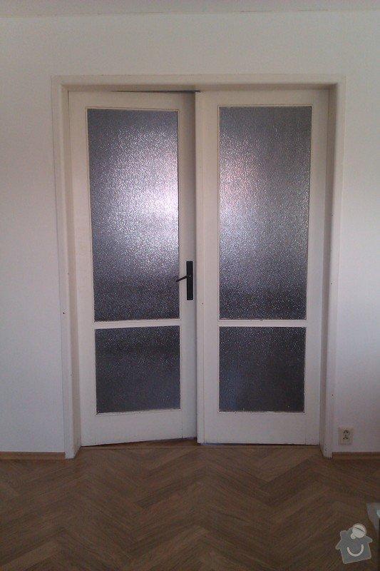 Renovace dveří (nátěr a přesklení): IMAG0095