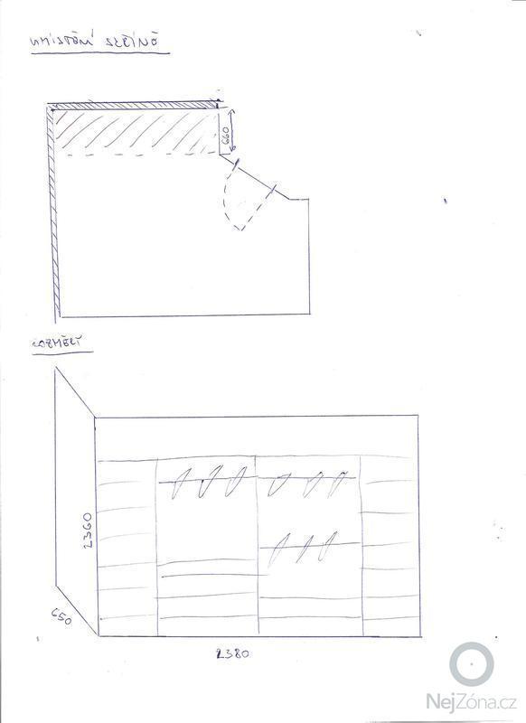 Vestavěná šatní skříň + postel včetně nočních stolků: Obrazek_135_