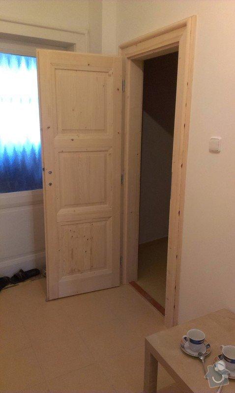 Výroba dřevěných interiérových dveří: IMAG0070