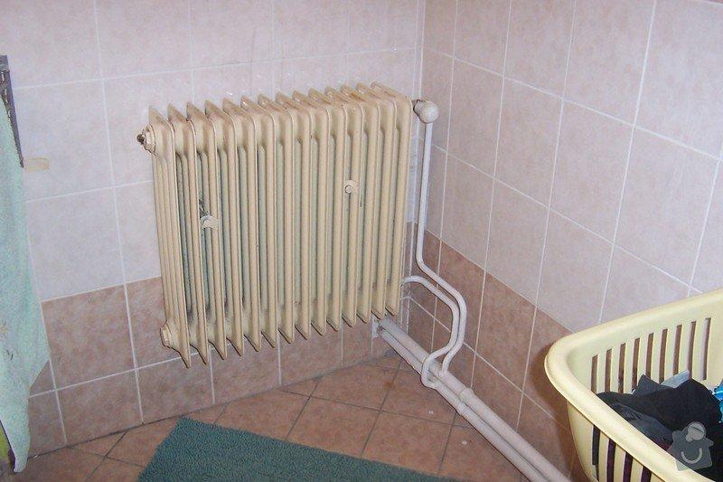 Výměna 1. topného tělesa radiátor: 102_8533