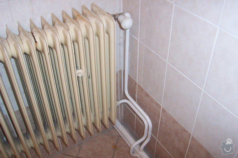 Výměna 1. topného tělesa radiátor: 102_8539