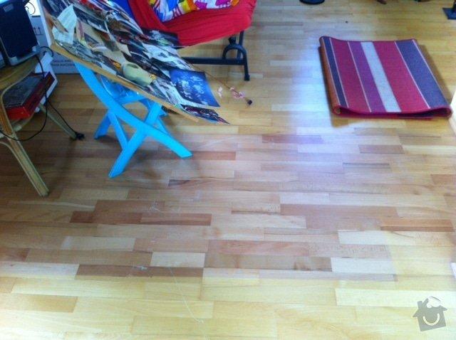 Oprava plovoucích podlah v rodinném domě: obrazek