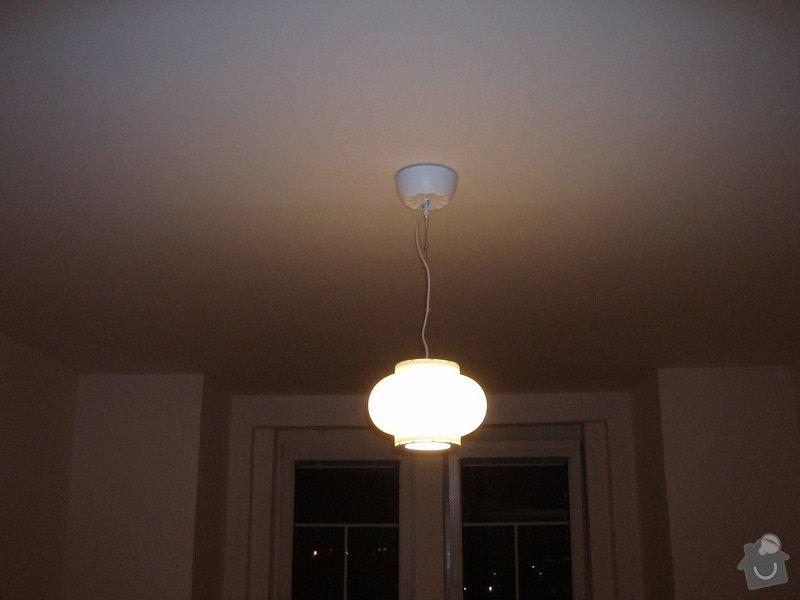 SDK podhled, SDK strop, elektroinstalace,malování: 047