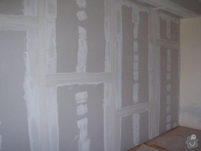 SDK podhled, SDK strop, elektroinstalace,malování: 031
