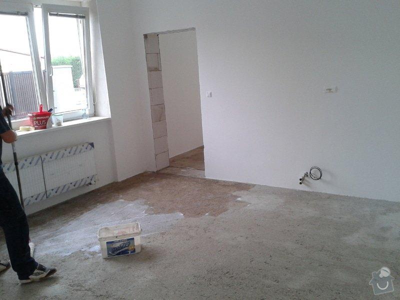 Koupě a pokládka podlahy do rodinného domu cca 115m2: Vinyl1