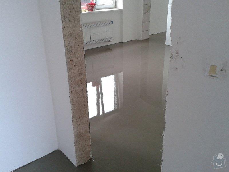 Koupě a pokládka podlahy do rodinného domu cca 115m2: Vinyl2