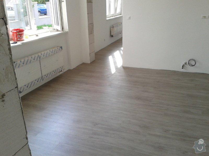 Koupě a pokládka podlahy do rodinného domu cca 115m2: Vinyl4