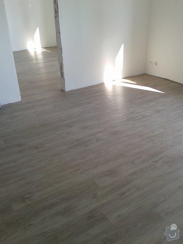 Koupě a pokládka podlahy do rodinného domu cca 115m2: Vinyl5