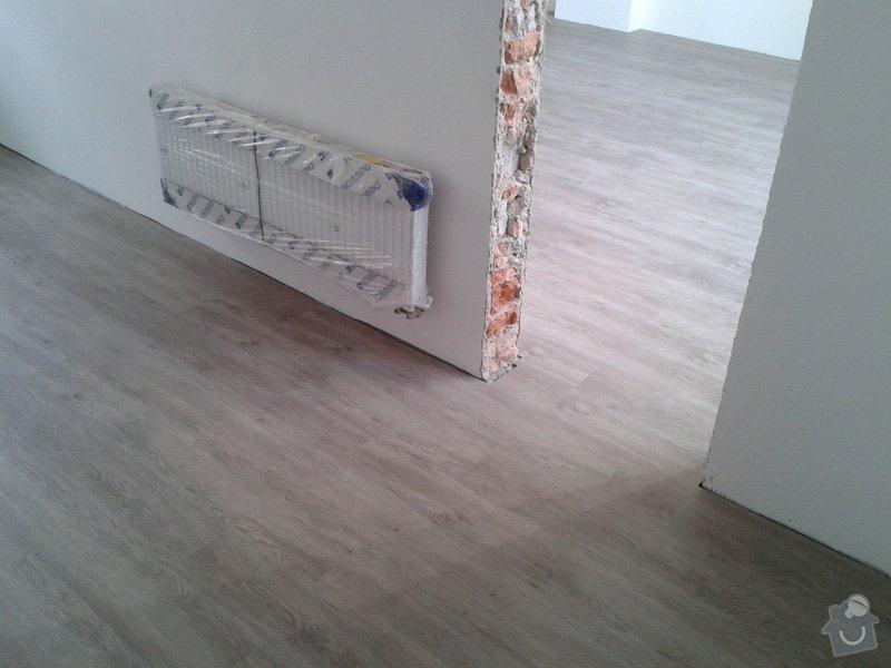 Koupě a pokládka podlahy do rodinného domu cca 115m2: Vinyl6