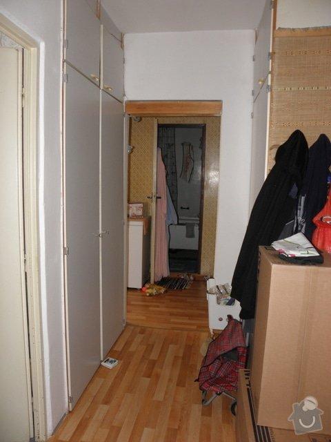 Rekonstrukce panelového bytu 3+1, Brno Líšeň: Chodba_1_