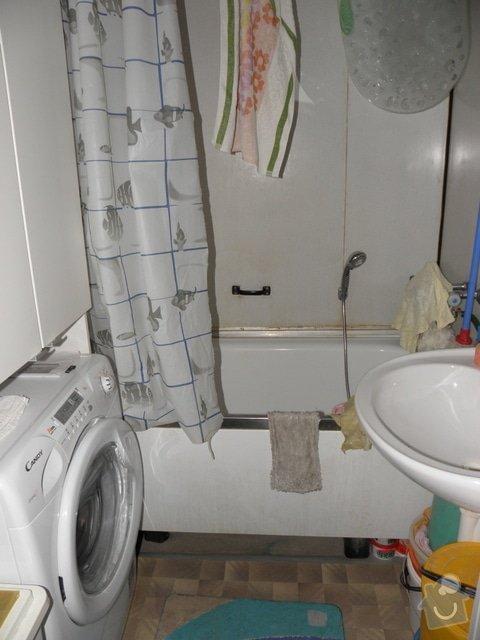 Rekonstrukce panelového bytu 3+1, Brno Líšeň: Koupelna_1_