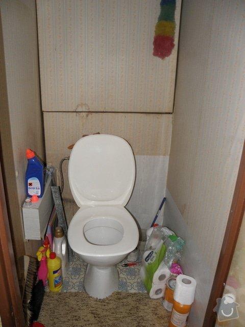 Rekonstrukce panelového bytu 3+1, Brno Líšeň: Toaleta_1_
