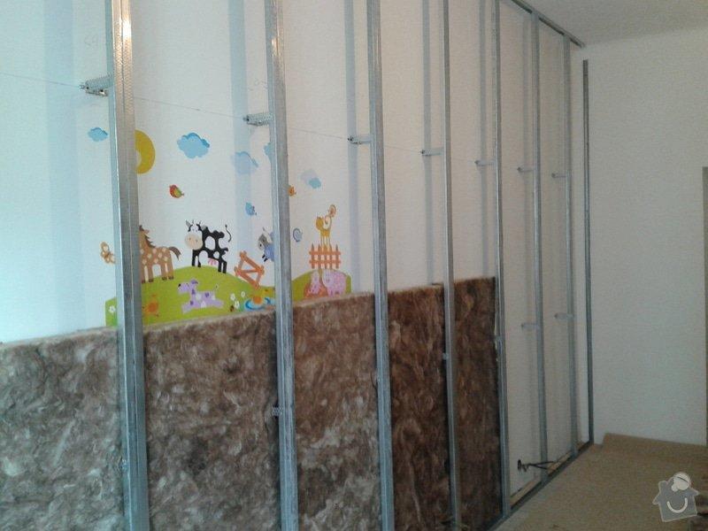 Odhlučnění dětského pokoje: Botanicka1