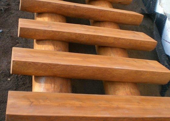 Srubové schody