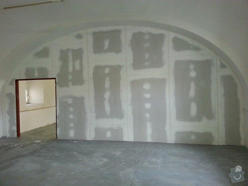 Sádrokartonová stěna: 20131013_114143