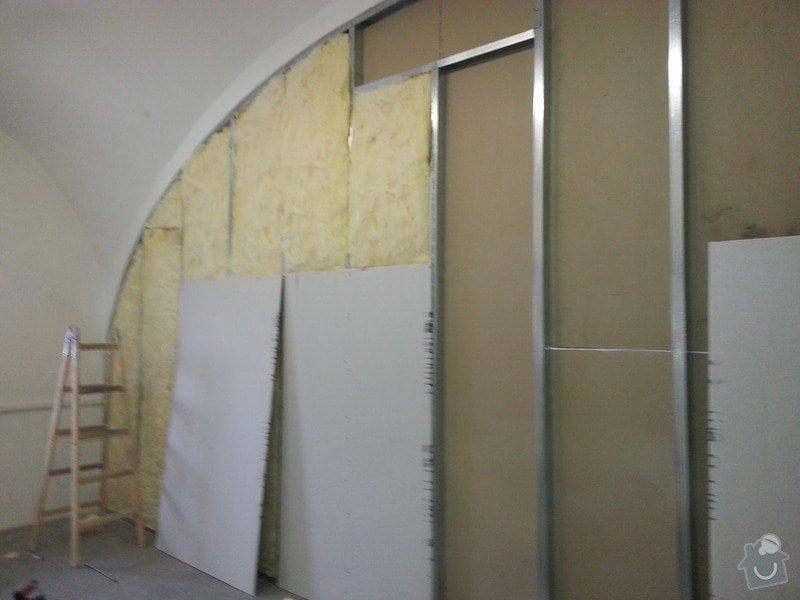 Sádrokartonová stěna: 20131012_115009