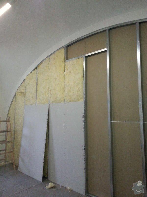 Sádrokartonová stěna: 20131012_115017