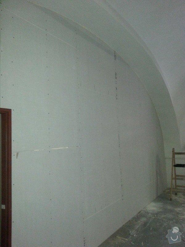 Sádrokartonová stěna: 20131012_115029