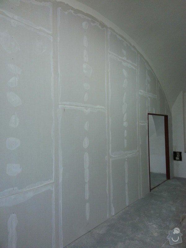 Sádrokartonová stěna: 20131012_145425