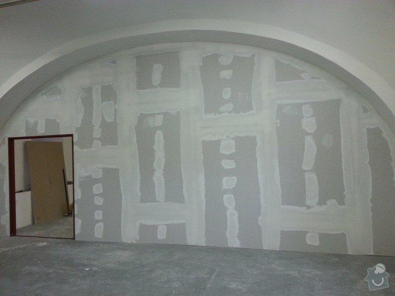 Sádrokartonová stěna: 20131012_160238