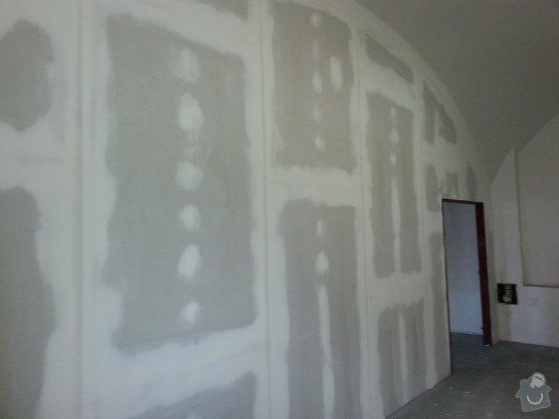 Sádrokartonová stěna: 20131013_114121