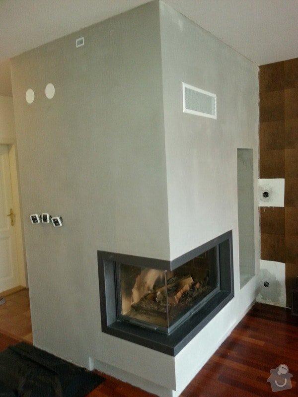 Omítka v obývacím pokoji, cca 15 m2: 20130920_132448