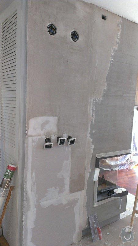 Omítka v obývacím pokoji, cca 15 m2: IMAG0463