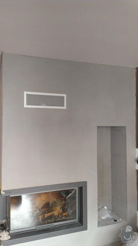 Omítka v obývacím pokoji, cca 15 m2: IMAG0469
