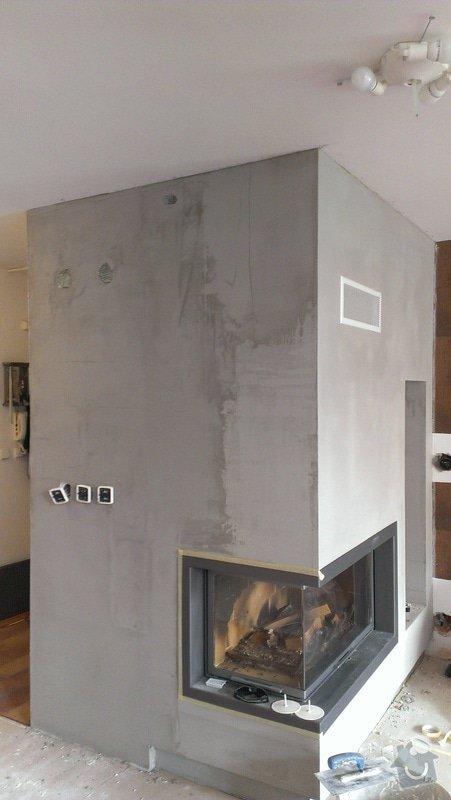 Omítka v obývacím pokoji, cca 15 m2: IMAG0470