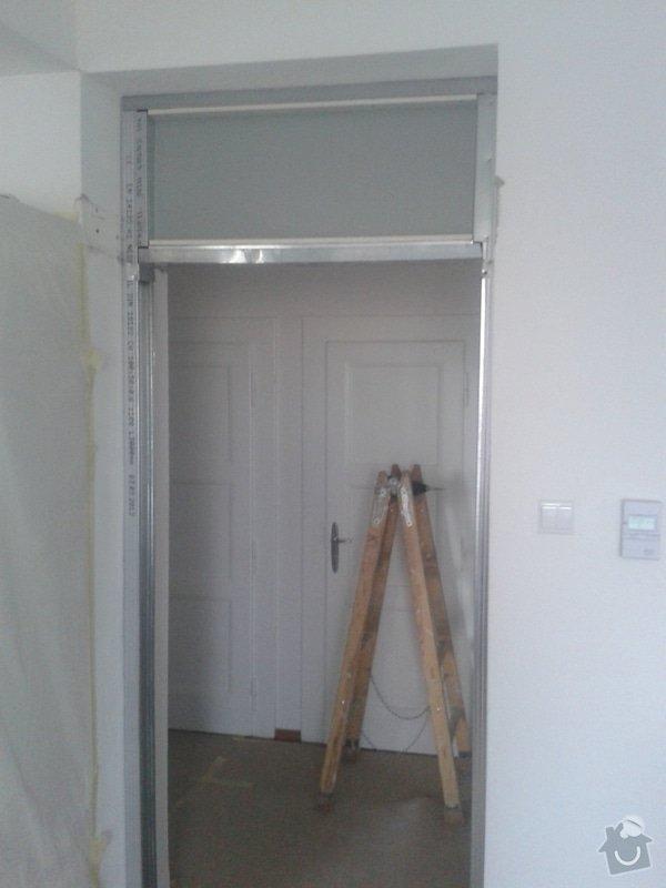 Posunutí dvěřního otvoru v sadrokartonové stěně: 20130917_095408