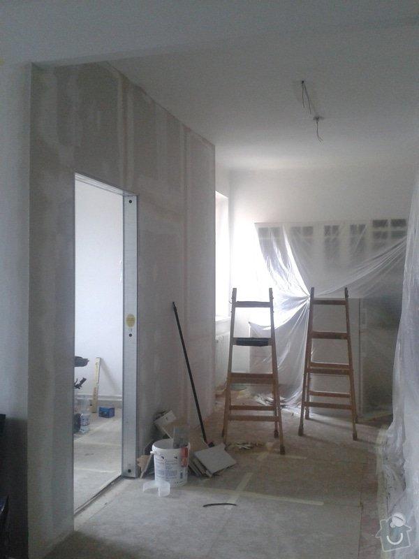 Posunutí dvěřního otvoru v sadrokartonové stěně: 20130917_123216