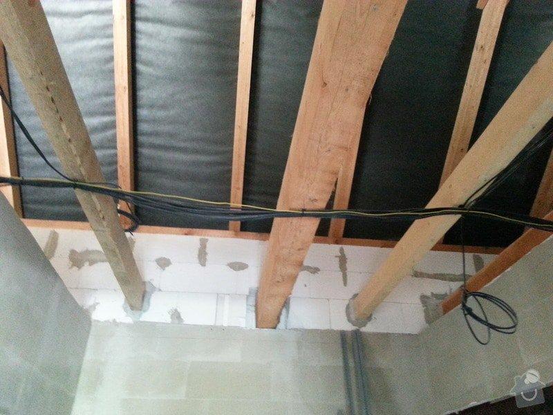 Zateplení bungalovu - sádrokarton: 20130723_125924