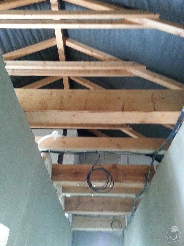 Zateplení bungalovu - sádrokarton: 20130723_125930