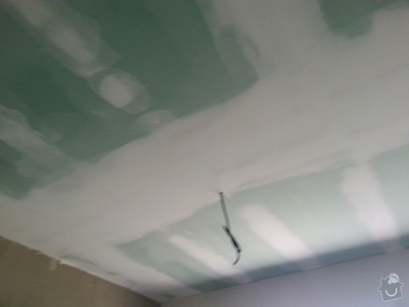 Zateplení bungalovu - sádrokarton: 20130801_105855