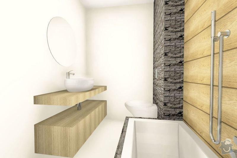 Úpravy nového bytu: Koupelna
