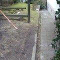 Lity beton a schody kolem domu chodnicky a zlabky 2