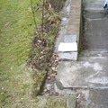 Lity beton a schody kolem domu chodnicky a zlabky 3