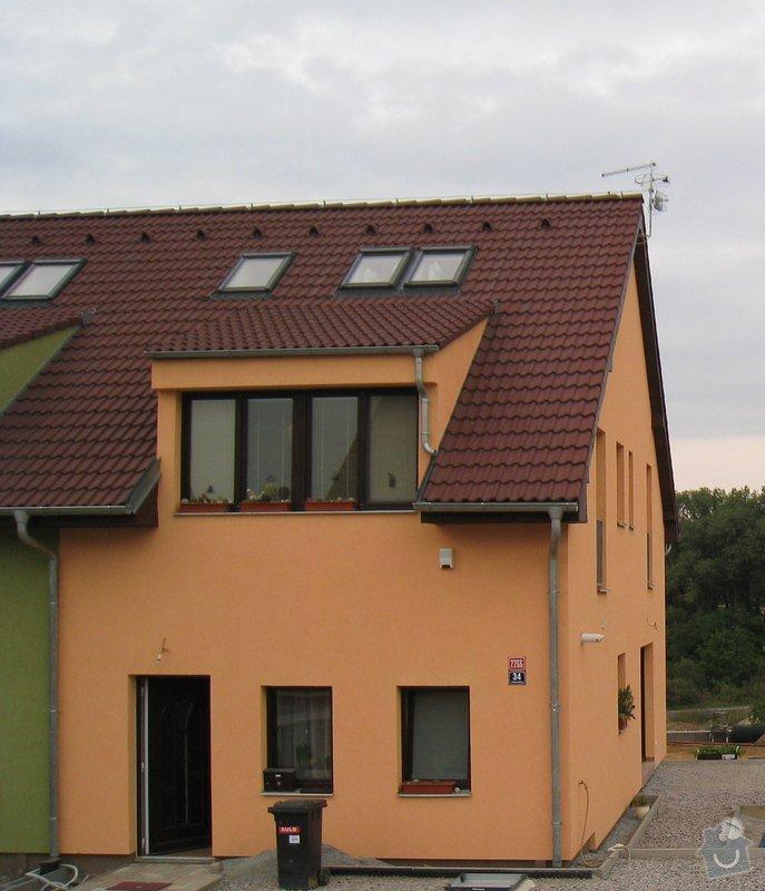Protisněhové zábrany na střechu: strecha1
