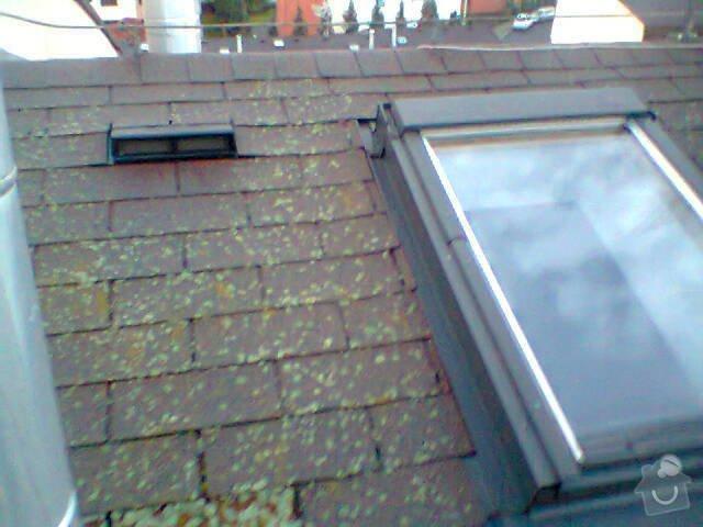 Opravu zatékající střechy: Fotografie0949