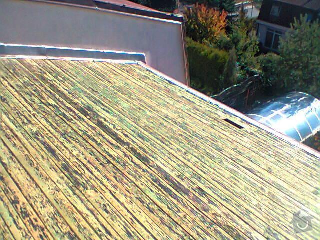 Opravu zatékající střechy: Fotografie0956