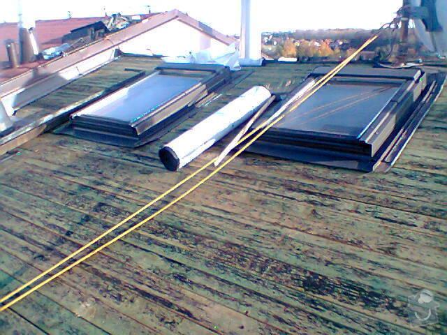Opravu zatékající střechy: Fotografie0961