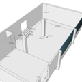 Rekonstrukce kancelarskych prostor pudorys original