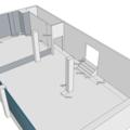 Rekonstrukce kancelarskych prostor pudorys original iso3d2
