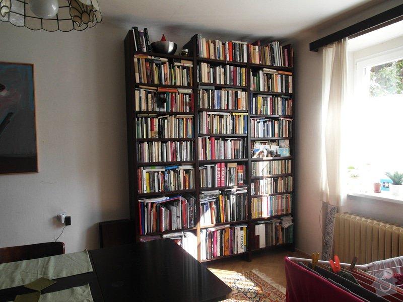 Výroba dřevěné knihovny (regálu): knihovna_-_foto