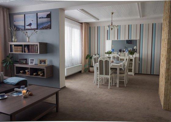 Designové úpravy obývacího pokoje